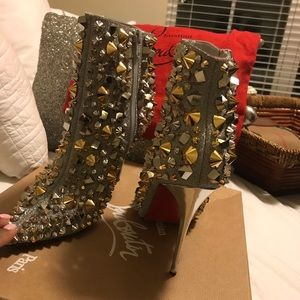 """Christian louboutin """"Red bottoms"""" worn once!"""